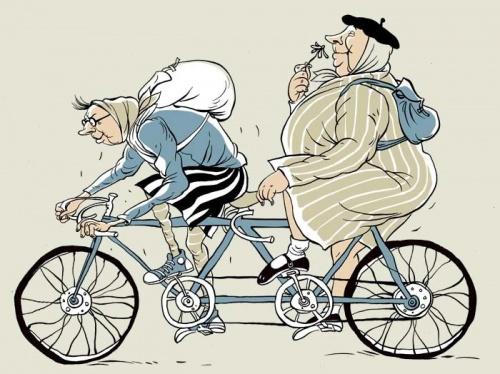 Новые карикатуры Ольги Громовой (100 работ)