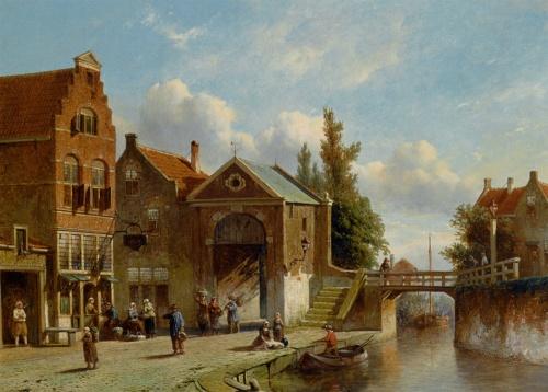 Pieter Gerardus Vertin (1819 - 1893) (125 работ)