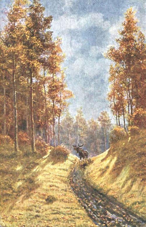 Охотничья живопись графа Муравьёва (80 работ)