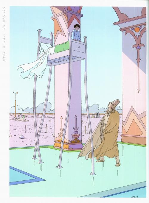 Miyazaki-Moebius Exhibition Catalogue (103 работ)