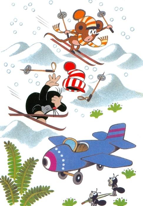 Художник-аниматор Зденек Милер (Zdenek Miler) (95 работ)