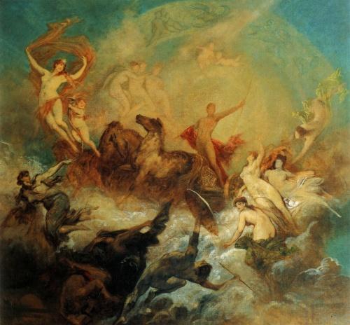 Австрийский художник Hans Makart (101 работ)