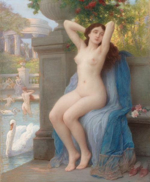 Французский художник Jules Scalbert (1851-1928) (46 работ)