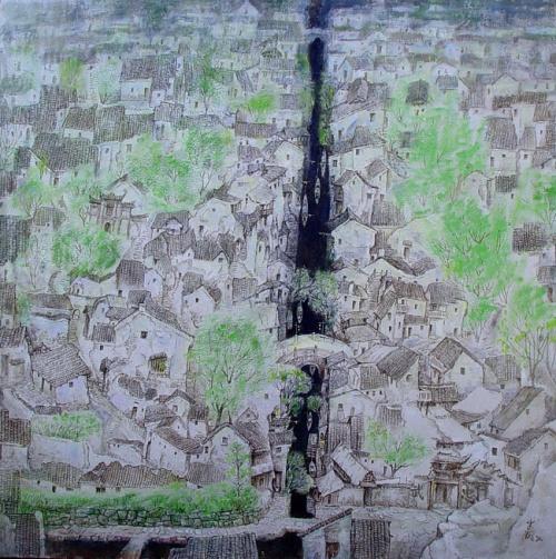 Современный китайский художник Chunming Yu (31 работ)