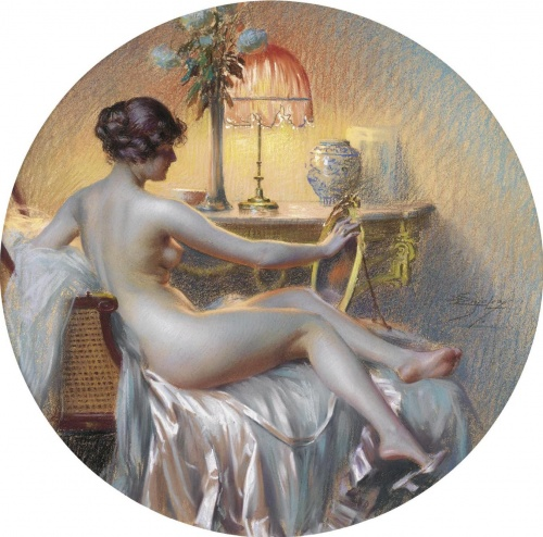 Delphin Enjolras французский художник (140 работ)