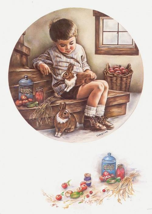 Рисунки Christine Haworth (200 работ)