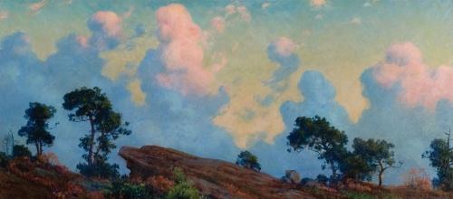 Charles Courtney Curran (American, 1861-1942) (115 работ)