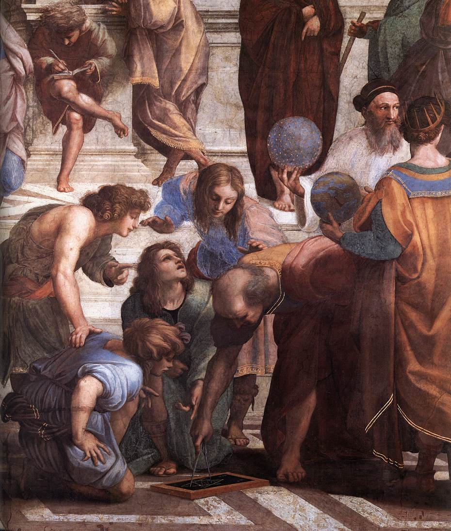 a description of raphael who chosen by julius ii to paint a number of frescos in the stanza della se The decoration of the stanza della segnatura was perhaps raphael's greatest work julius ii was a to paint the stanza della of raphael, the number of.