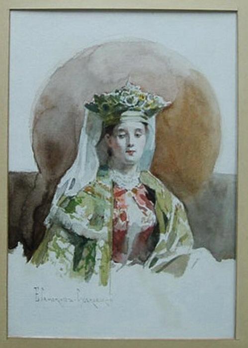 Николай Семёнович Самокиш (1860-1944) и Елена Петровна Самокиш-Судковская (урожд. Бенард)(1863-1924) (127 работ)