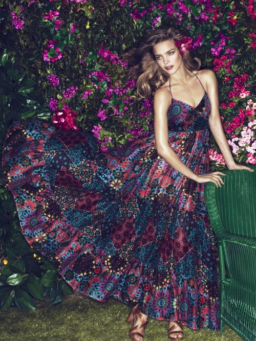 Natalia Vodianova – Etam Spring 2011 Lingerie & Swimwear Campaign (17 фото)