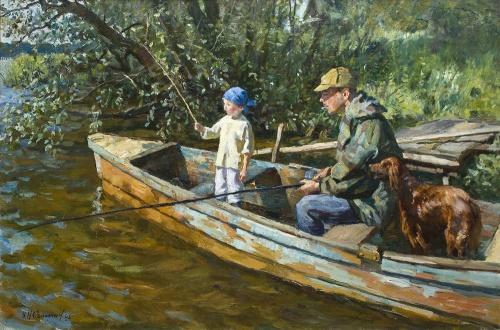 Русские и советские художники. Часть 36 (930 работ)