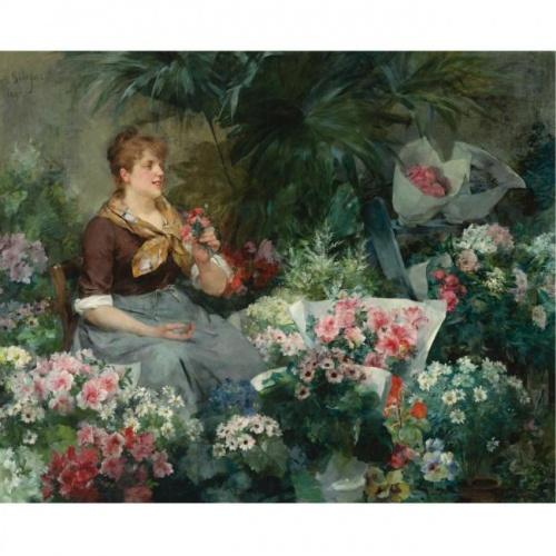 Louis Marie de Schryver (1862-1942) (33 работ)