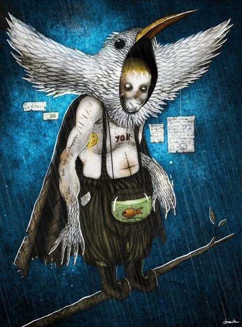 Иллюстрации Berk Ozturk (28 работ)