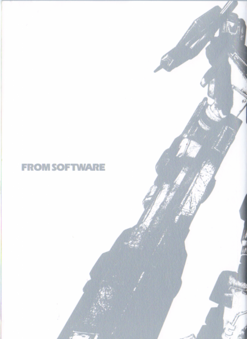 Armored Core Chronicle Art Works Book (30 работ)