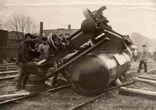 Фото: Аварии из прошлого (31 фото)