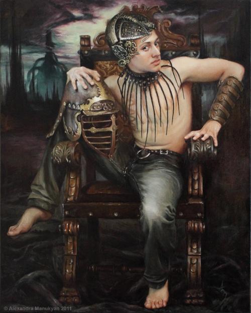 Artworks by Alexandra Manukyan (32 работ)