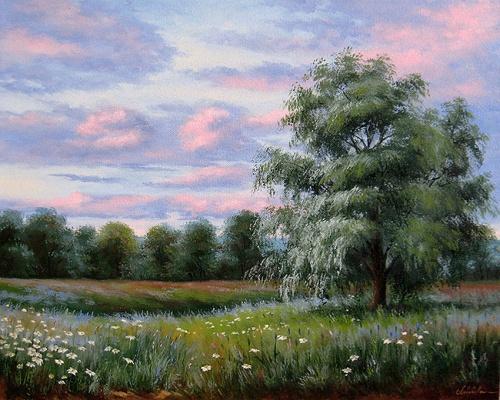 Живопись Елены Лебедевой (50 работ)