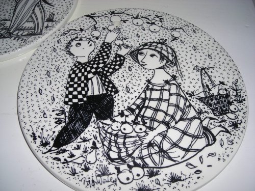 Художник из Дании Bjorn Wiinblad (1918-2006) (57 работ)