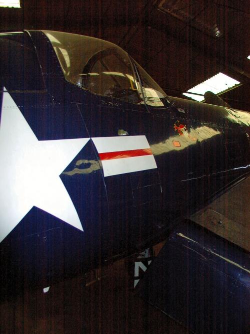 Американский палубный истребитель F4U-5NL Corsair (70 фото)