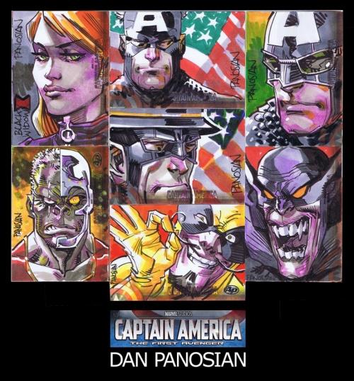 Dan Panosian - супергерои американского художника комиксов (ник urban-barbarian) (176 работ)