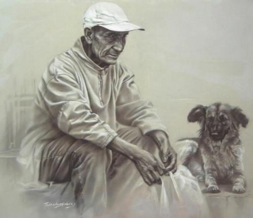 Сюрреализм Johnny Palacios Hidalgo (83 работ)