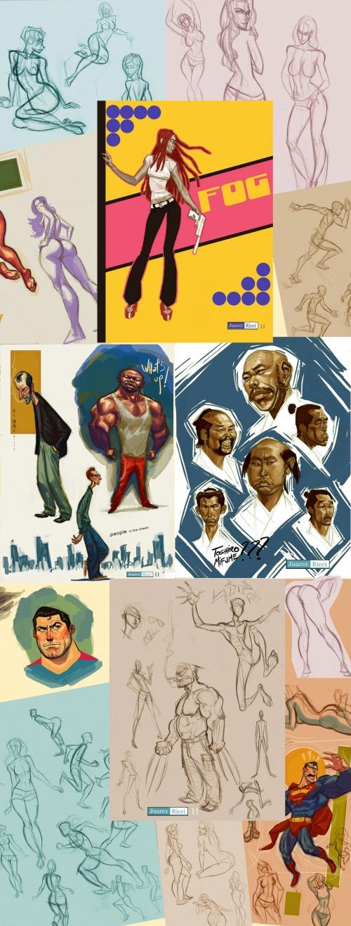 ARtworks by Juarez Ricci (2011-2012) (61 работ)