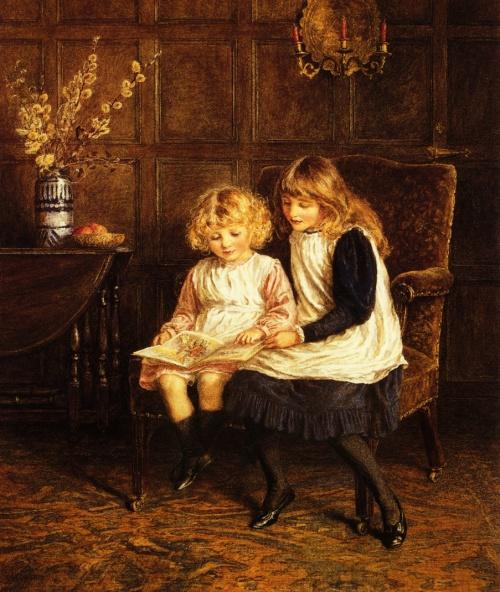 Английский художник Helen Allingham (1848-1926) (77 работ)