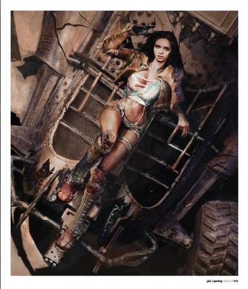 Girls Of Gaming vol. 1&2 (84 работ) (2 часть)