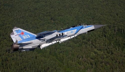 Истребитель МиГ-31 (8 фото)