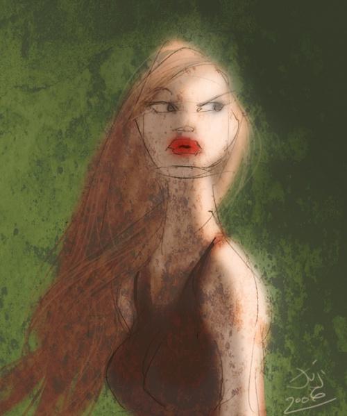 Jujika - американская художница-иллюстратор (60 работ)