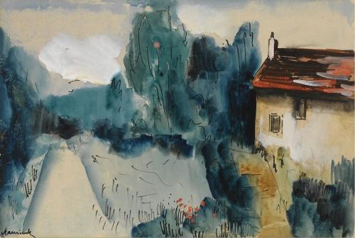 Artworks by Maurice de Vlaminck (375 работ)