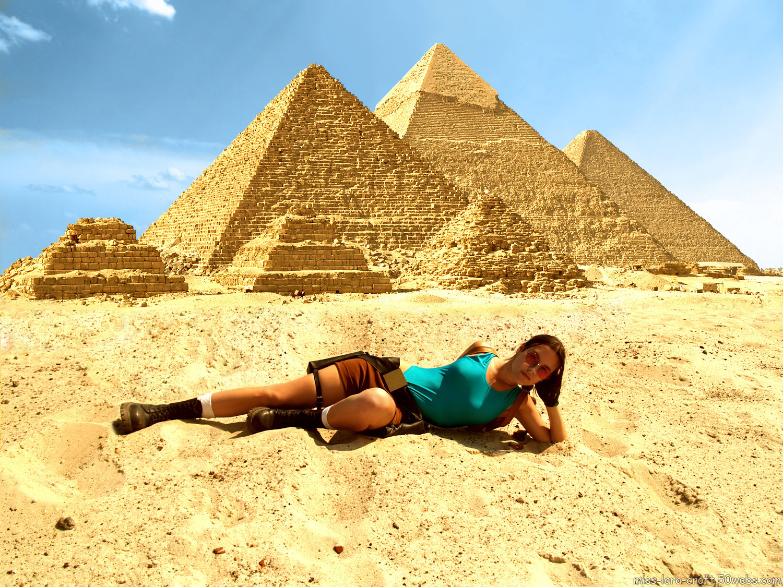 Фото одной девушки в египет