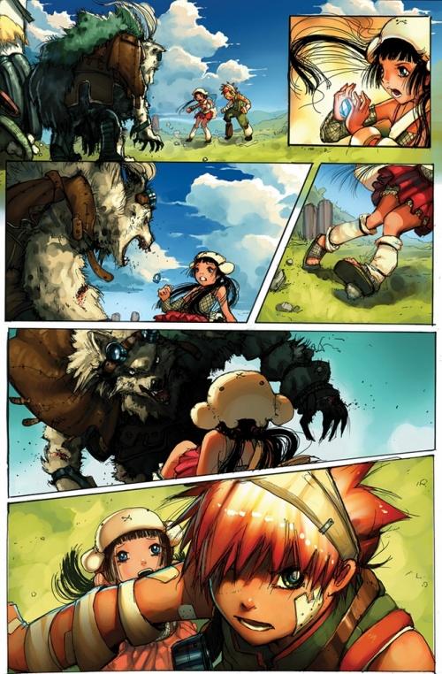 Симон Борк (Simon Bork) - 2d художник комиксов из Германии (127 работ)