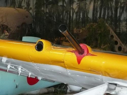 Японский истребитель Mitsubishi J2M3 Raiden (Jack) (47 фото)