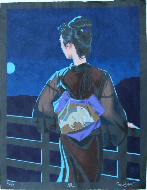 Японский стиль Paul Binnie (126 работ)