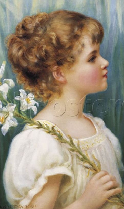Английский художник Norman Prescott Davies (1862-1915) (27 работ)