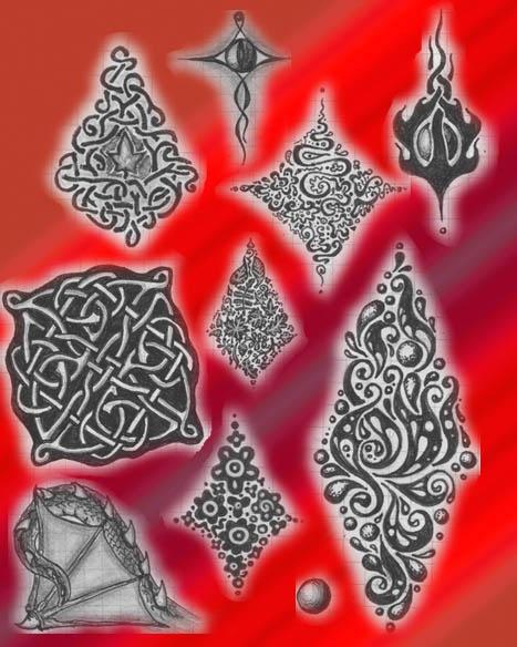 Замечательные работы русской художницы Натальи (псевдоним uildrim) (92 работ)