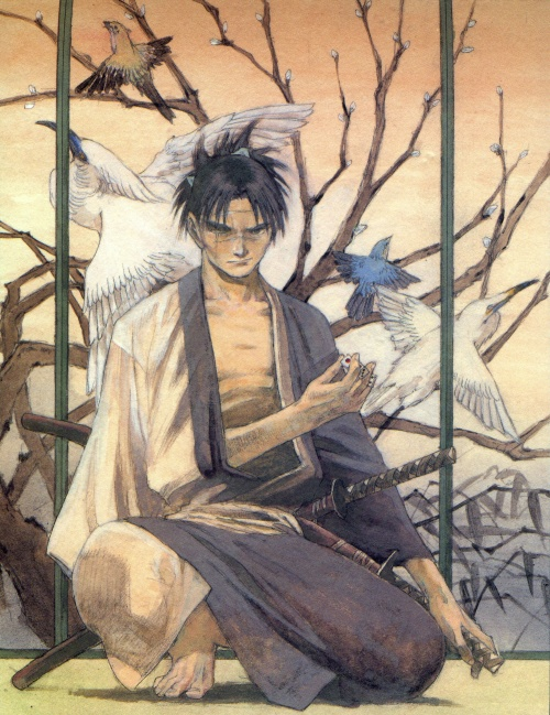The Art of Blade of the Immortal (АртБук) (34 работ)