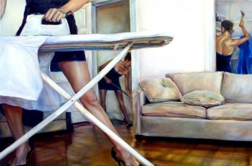 Картины маслом... Художница Ana Teresa Fernandez (20 работ)