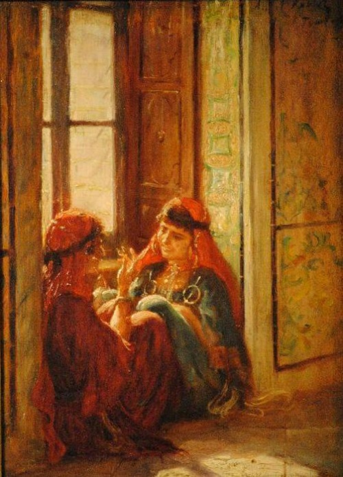 Albert Aublet (French, 1851-1938) (65 работ)