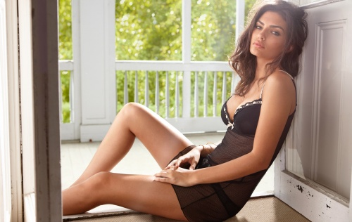 Alyssa Miller – Intimissimi Spring 2011 Collection (35 работ)