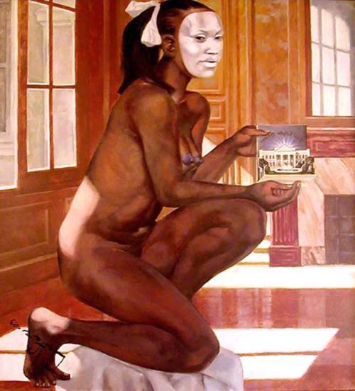 Избранные картины художников в жанре ню (64 работ)