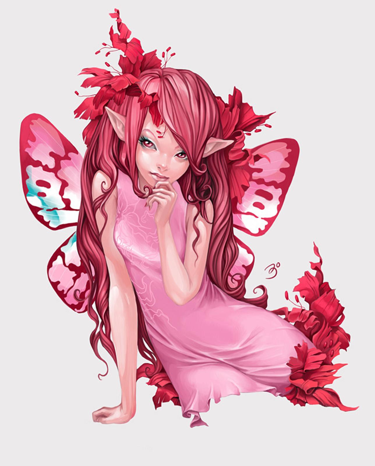 Розовая и симпатичная 18 фотография