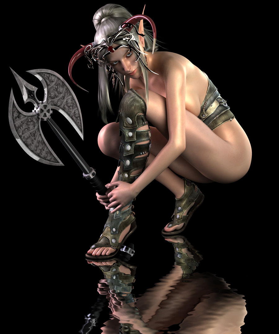 Naked warrior chick pics hentai scenes
