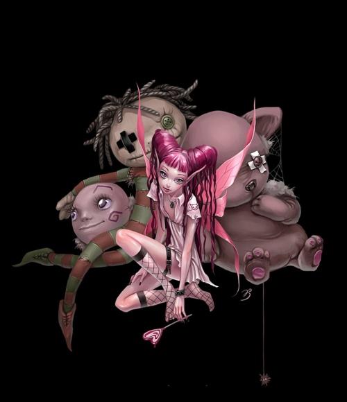 Добрые и не очень феи художницы Анны Игнатьевой(Большая сборка №2) (47 работ)