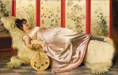 Итальянский художник Frederic Soulacroix (1858-1933) (76 работ)