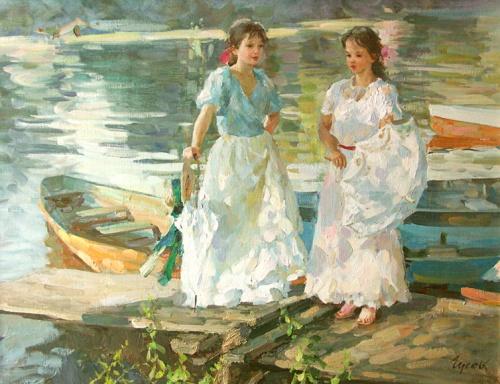 Работы художника Владимира Гусева (145 работ)