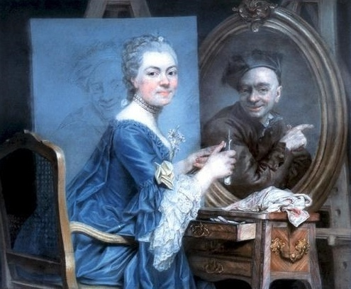Морис Кантен де Латур | XVIIIe | Maurice Quentin de La Tour (181 работ)