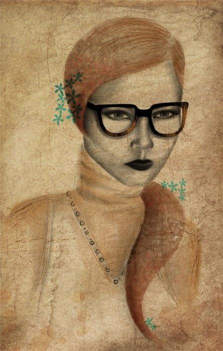 Фешн-иллюстратор Nicole Jarecz (53 работ)