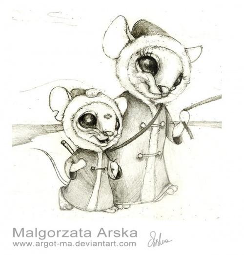 Художник-иллюстратор Malgorzata Arska (40 работ)